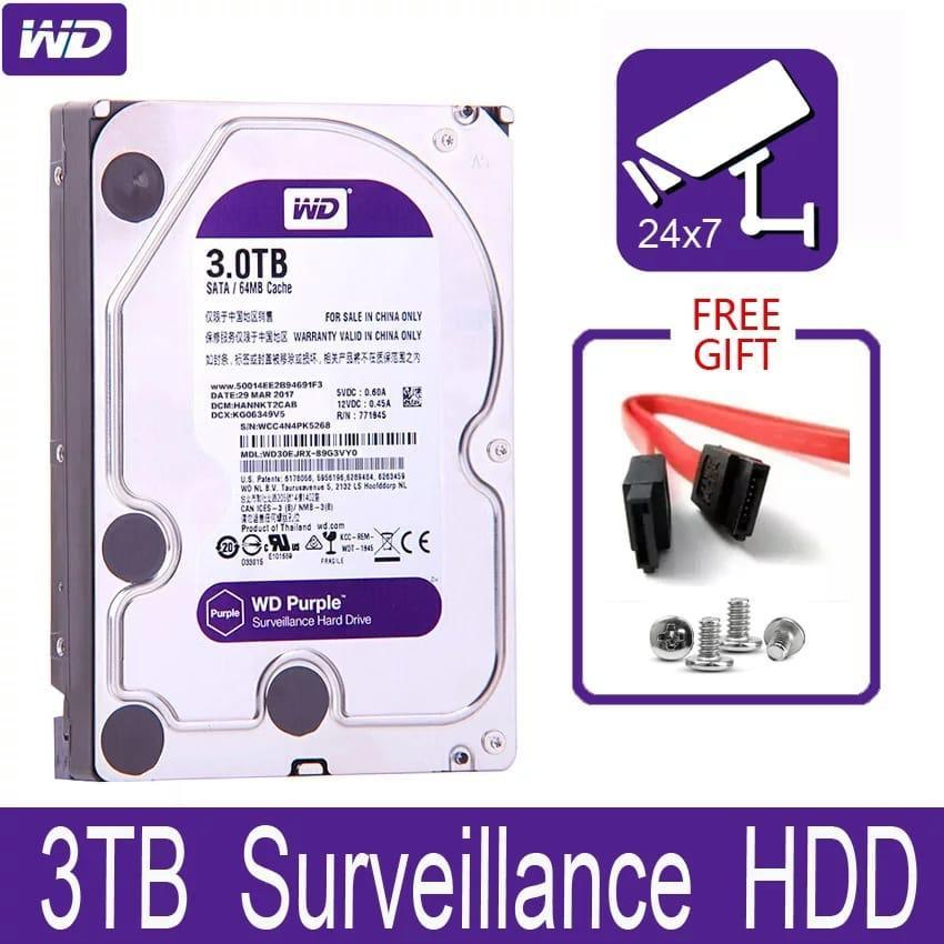 Жесткий диск 3TB Surveillance HDD