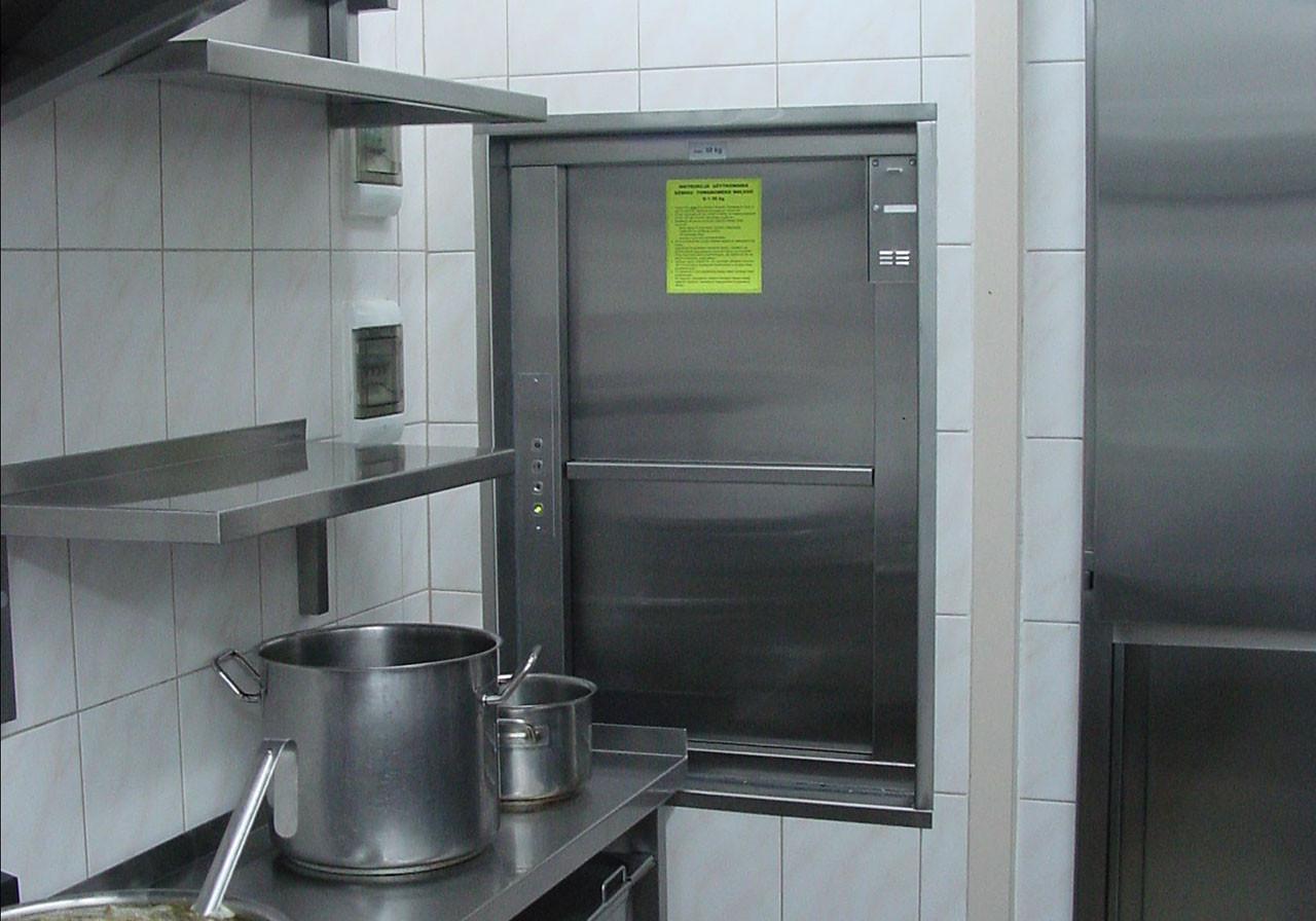 Кухонные шкафы с лифтом