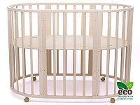 Детская кроватка Tomix Malta 8 в 1 Слоновая кость