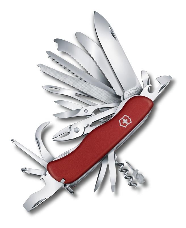 Нож VICTORINOX WORKCHAMP XL 111мм 31 функции R 18090