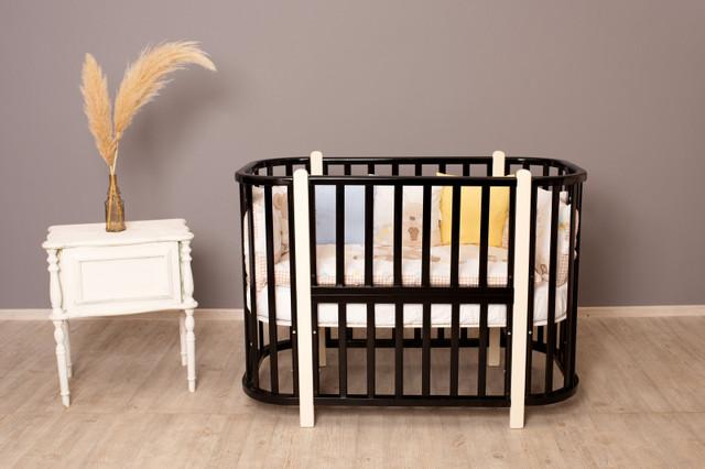 Детская кроватка Incanto Nuvola 3 в 1 венге/слоновая кость
