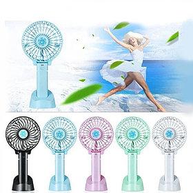 Ручной мини-вентилятор  аккумуляторный. Handy Mini Fan