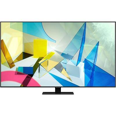 "75"" (189 см) Телевизор LED Samsung QE75Q80TAUXCE серебристый"