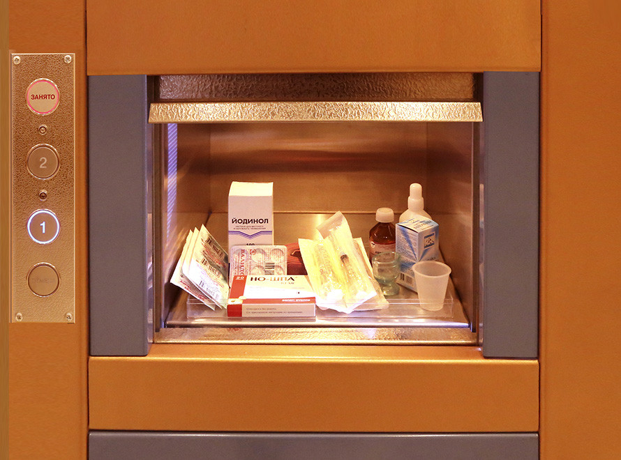 Ресторанный лифт сервисный