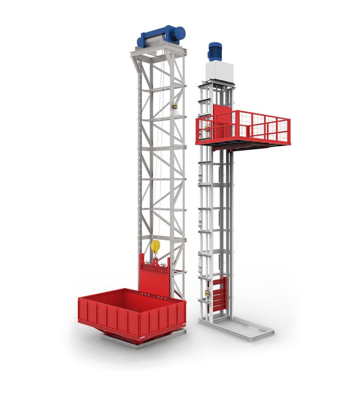 Лифт для склада грузовой
