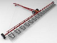 Борона штригельная прицепная гидрофицированная диаметр пружины БШПГ (6,7,8 зуб мм) ширина 12м