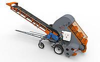Ковшово-шнековый погрузчик КШП-6УМ-02 Длина стрелы 4,5м Высота разгрузки 3,1 м