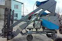 Зернометатель самопередвижной ЗС-90 КП дальность метания 21м, производительность 90т/ч