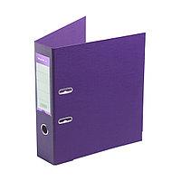 """Папка регистратор Deluxe с арочным механизмом, Office 3-PE1 (3"""" PURPLE), А4, 70 мм, фиолетовый"""