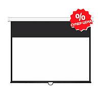 "Экран Deluxe DLS-M229-185W (90""х73""), Ø - 116"", Раб. поверхность 221х125 см., 16:9"