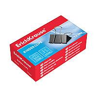 Зажимы для бумаг ErichKrause®, 25мм (коробка 12 зажимов)