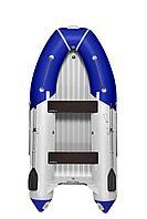 Надувная лодка ПВХ, Адмирал 325 S НДНД, светло-серый/синий NF-00000472_LG-B