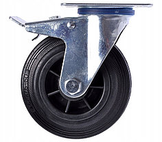 КОЛЕСО  125 мм (с двойным тормозом)