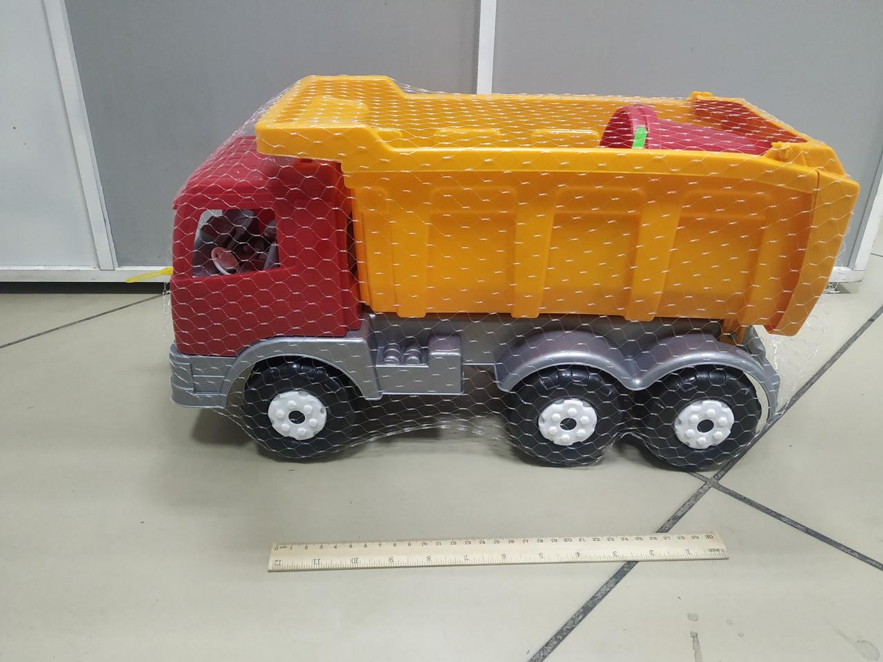 Пластмассовая машина БелАЗ для песочницы - фото 1