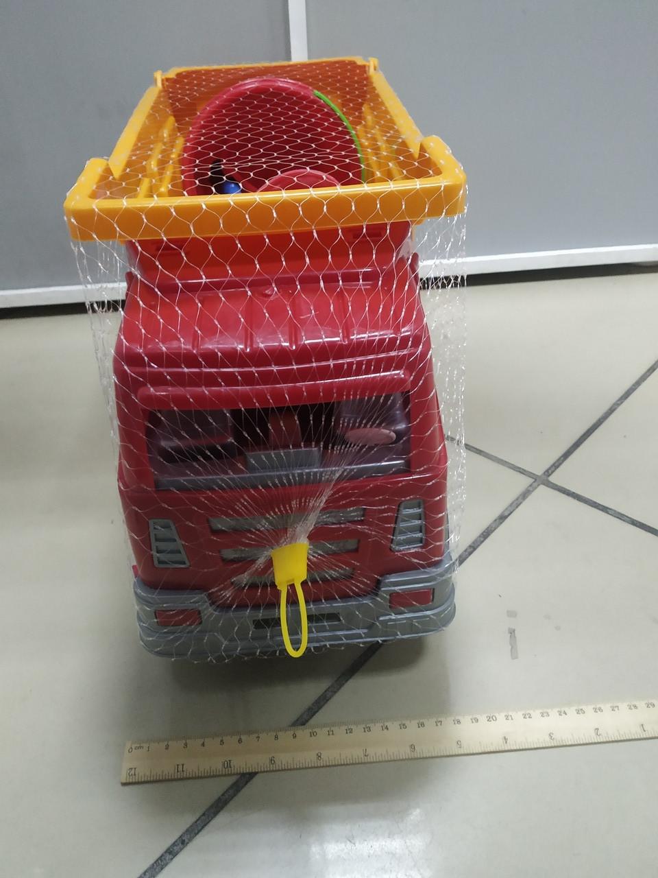 Пластмассовая машина БелАЗ для песочницы - фото 2