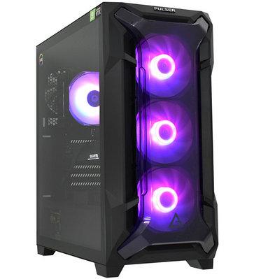 Персональный компьютер PULSER Advanced Core i5-10400F-2.9GHz/SSD 512GB черный