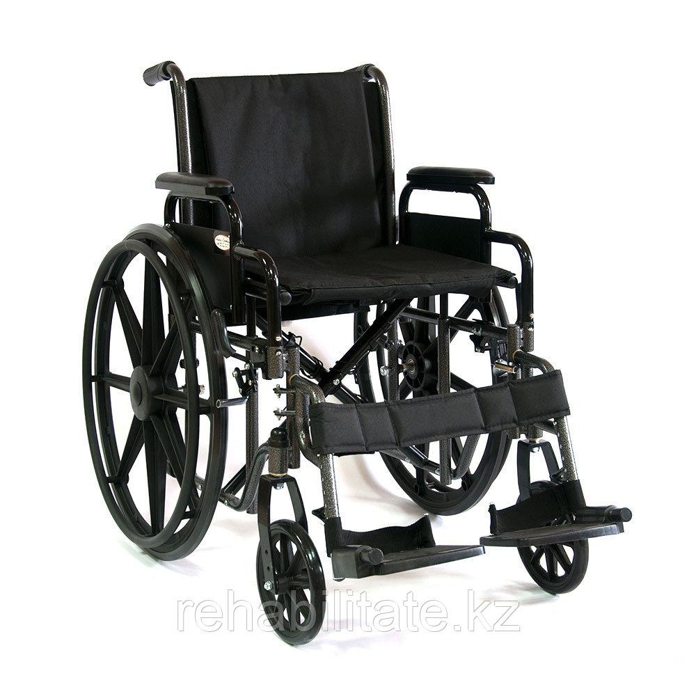 Инвалидная коляска регулируемая по ширине 511A-51 повышенной грузоподъемности