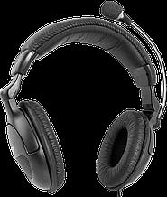 Defender 63898 Гарнитура компьютерная проводная Orpheus HN-898 черный, кабель 3 м