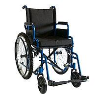 Кресло-коляска инвалидная механическая 512AE-41 повышенной грузоподъемности