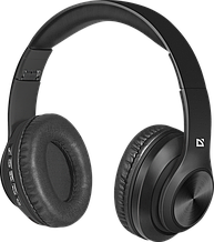 Defender 63552 Гарнитура беспроводная FreeMotion B552 черный, Bluetooth