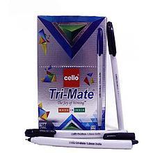 "Ручка шариковая CELLO ""TRI-Mate"" 1 мм, черная"
