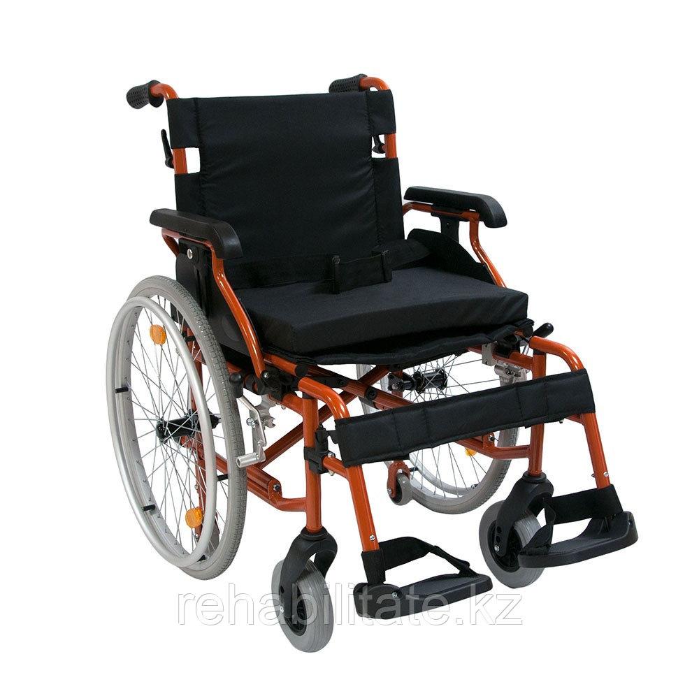 Кресло-коляска инвалидная механическая 514A-1 повышенной грузоподъемности