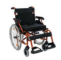 Кресло-коляска инвалидная механическая 514A-1 повышенной грузоподъемности, фото 1