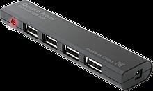 Defender 83200 USB разветвитель универсальный Quadro Promt USB 2.0, 4 порта