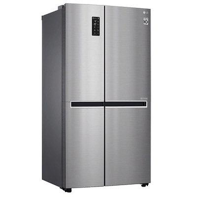 Холодильник LG GC-B247SMDC серебристый