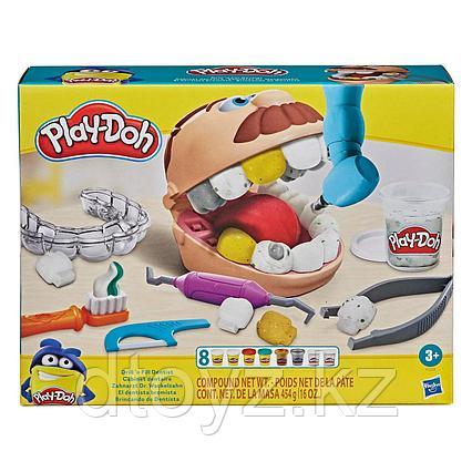 Hasbro Play-Doh Мистер Зубастик с золотыми зубами F1259