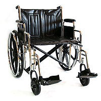 Кресло-коляска инвалидная механическая 711AE-51 повышенной грузоподъемности, фото 1