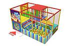 Игровой лабиринт тарзанки, бассейн с шариками, фото 2