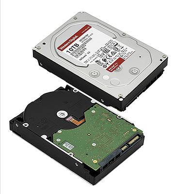 HDD SATA 10000 GB Western Digital Red Pro WD102KFBX, 7200rpm, 256MB cache, SATA 6 Gb/s