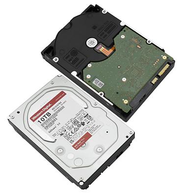 HDD SATA 10000 GB Western Digital Red WD101EFBX, 7200rpm, 256MB cache, SATA 6 Gb/s