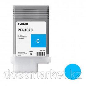 Тонер оригинальный Canon PFI-107C для imagePROGRAF-iPF670/680/685/770/780/785, голубой, 130 мл