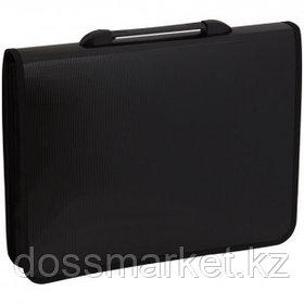 Папка-портфель OfficeSpace, А4+ формата, 1 отделение, черный