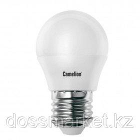 Лампа светодиодная Camelion LED7-G45/845/E27, 7 Вт, 4500К, нейтральный белый свет, E27, форма шар