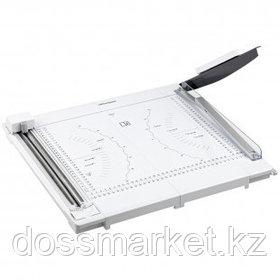 Резак OfficeSpace, 2 в 1, А4 формат, 10 листов, 3 стиля резки, роликовый/сабельный