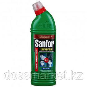 """Чистящий гель универсальный антимикробный с хлором Sanfor """"Морской бриз"""", 700 мл"""