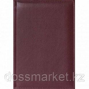 Ежедневник недатированный Classic, А5, 176 л, бордовый