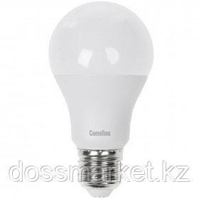 Лампа светодиодная Camelion LED9-A60/830/E27, 9 Вт, 3000К, теплый белый свет, E27, форма груша