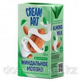 Молоко миндальное Creamart, 1 литр, тетрапакет