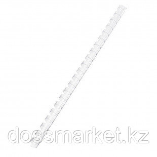 8 мм. Прозрачные пружины для переплета, для сшивания 21-40 листов