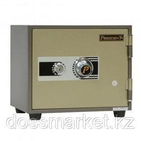 Огнеупорный сейф President LS1, механический код+ключ, 409*350*357 мм, 28 кг
