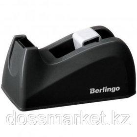 Диспенсер для канцелярской клейкой ленты Berlingo, настольный, черный