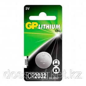 Батарейки GP дисковые CR2032, 3V, 3,2*20 мм, 1 шт., цена за штуку