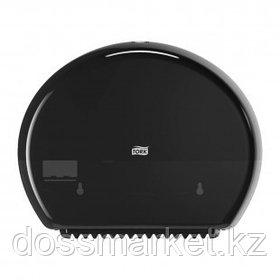 Диспенсер для рулонной туалетной бумаги Tork, 275*345*132 мм, черный