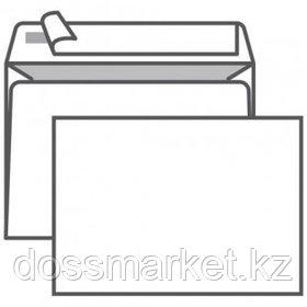 Конверт горизонтальный, формат С6 (114*162 мм), белый, отрывная лента