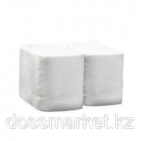Туалетная бумага листовая Chistodeloff, 200 л., 2-х слойная, Z-сложение, белая