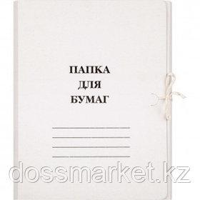 Папка с завязками Attache, А4 формат, немелованная, 260 г/м2